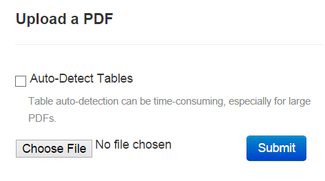 select a PDF to upload